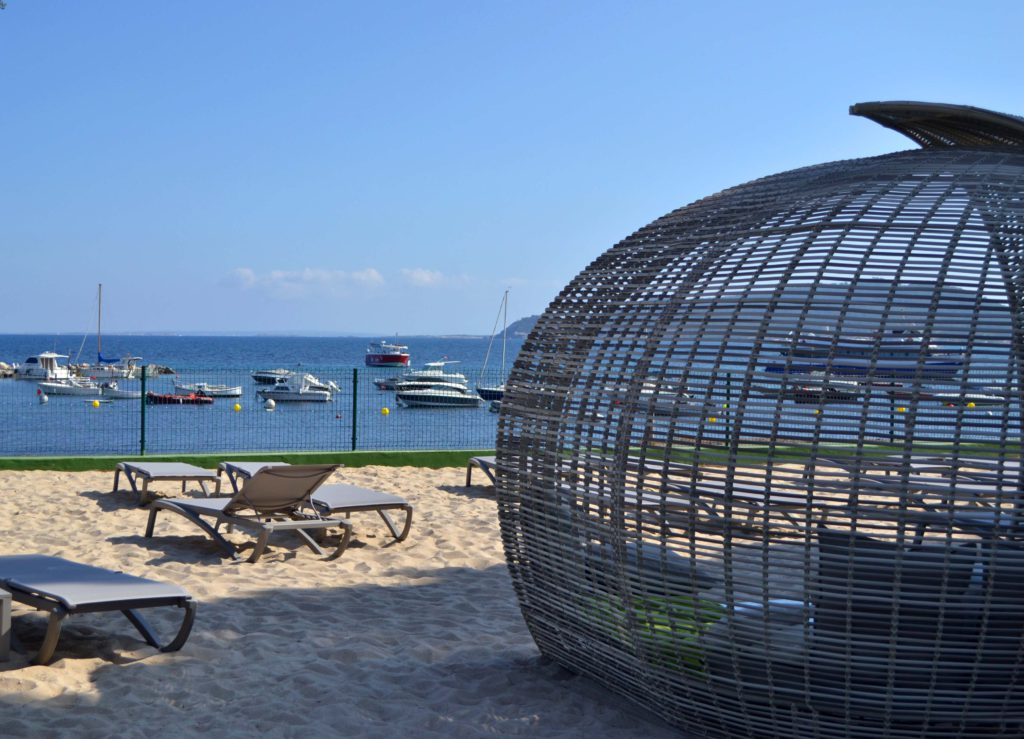 Hotel Torre del Mar: La plage