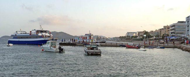 Taxi boat Ibiza