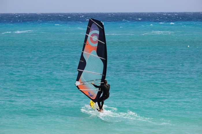 Windsurf en Ibiza